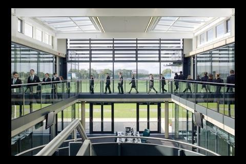 Corby Business Academy atrium
